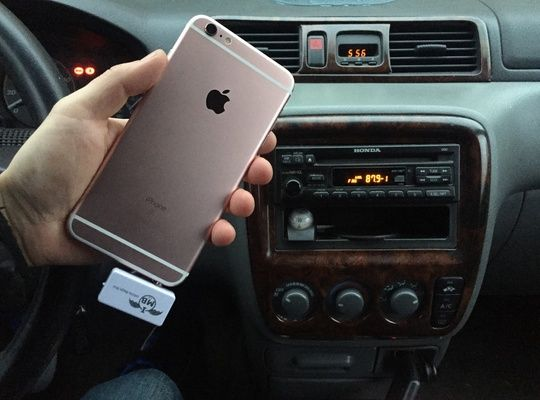 Connect Iphone 6s Plus To Older Car Radio Wirelessly No Bluetooth No Aux No Cables Iphone Car Stereo Iphone 6s
