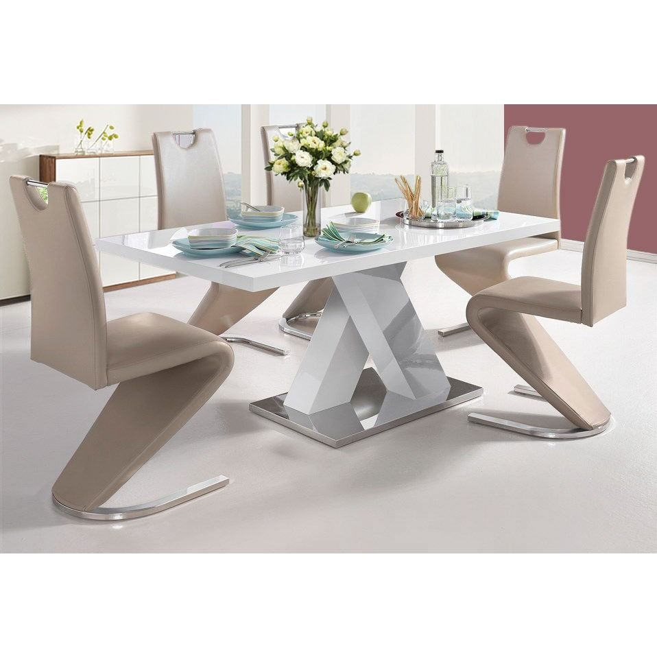 Scandinavian Lifestyle Ali Dining Table High Gloss