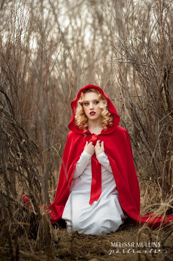Denver Fairytale Portraits - Red Riding Hood Photoshoot #redridinghood #denverphotoshoot