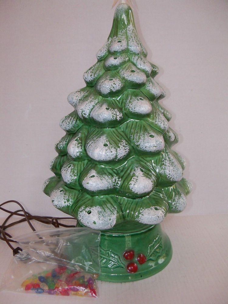 Vintage Ceramic Christmas Tree Vintage 20
