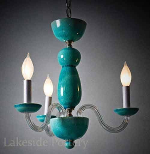 Custom made ceramic chandeliers pottery pinterest clay custom made ceramic chandeliers aloadofball Gallery