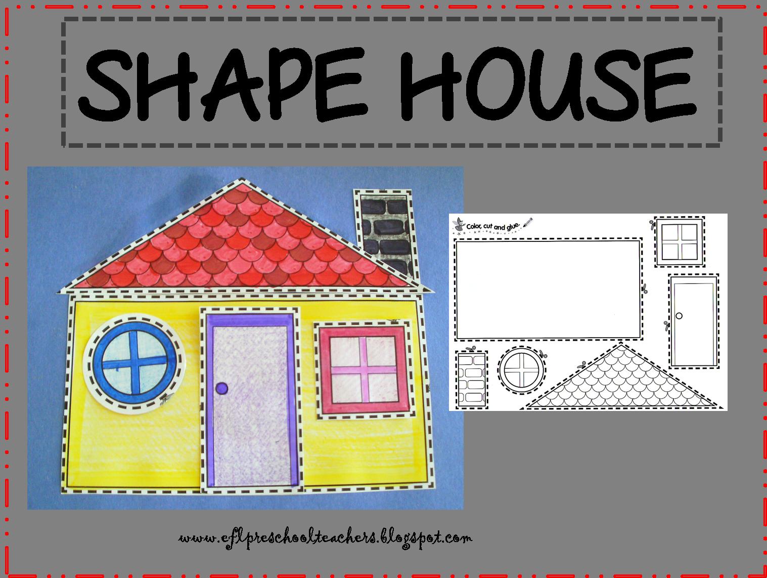 House Resources For Preschool Ela