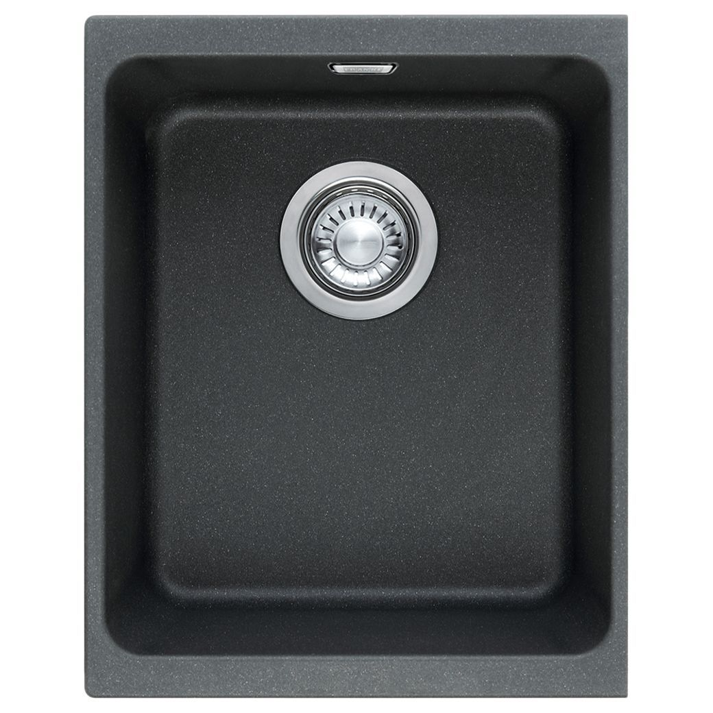Franke Kubus Kbg 110 34 Single Bowl Undermounted Kitchen Sink Fragranite Polar White In 2020 Undermount Sink Sink Single Bowl Sink