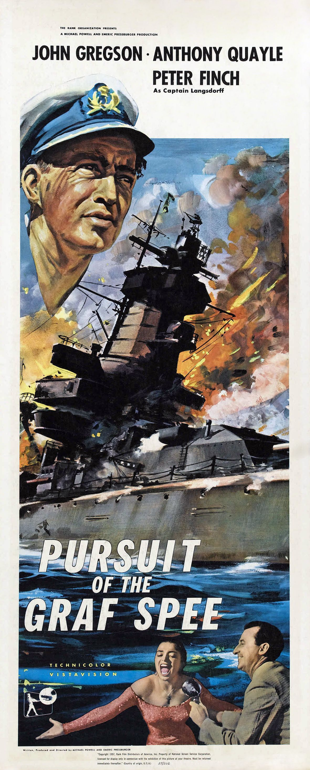 Pursuit Of The Graf Spee 1956 Aka The Battle Of The River Plate