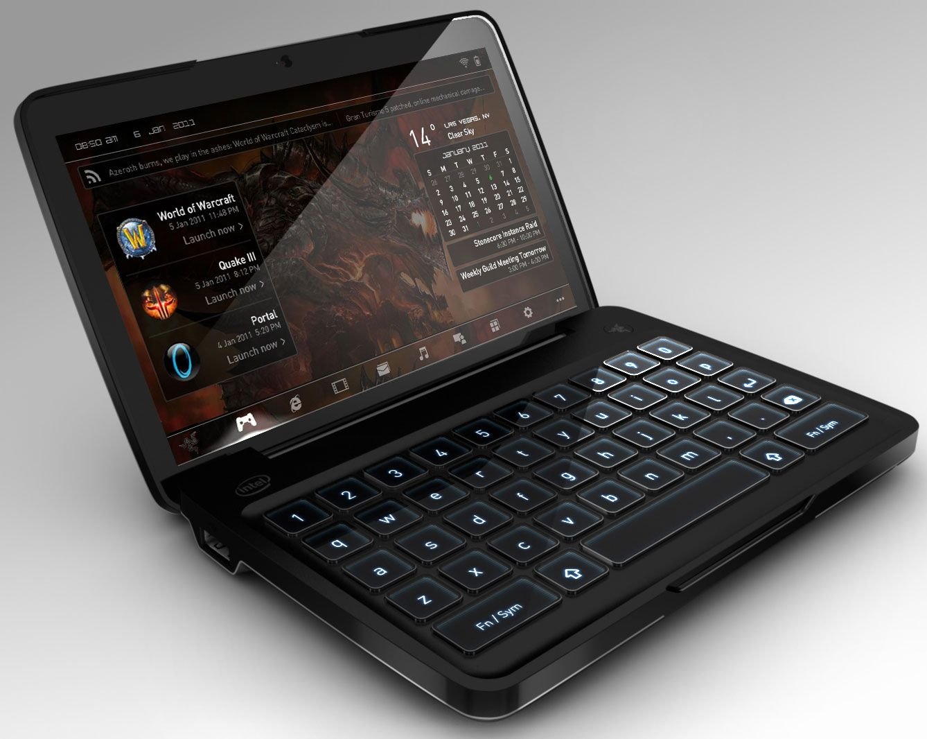 razer switchblade computers in 2019 latest tech gadgets wearable computer technology gadgets. Black Bedroom Furniture Sets. Home Design Ideas