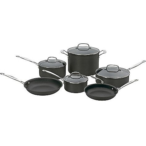 Cuisinart Chef's Classic™ NonStick Hard Anodized 10Piece