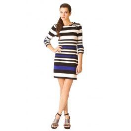 Vestido stretch tejido de punto rayas $1,199.00