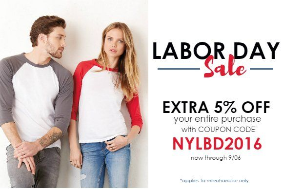 Labor Day Sale from Nyfifth