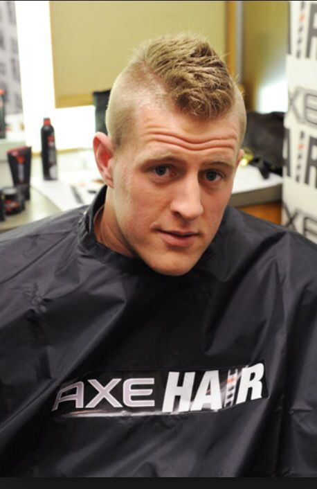 Jj Watt Mens Hairstyles Axe Hair Products Haircuts For Men