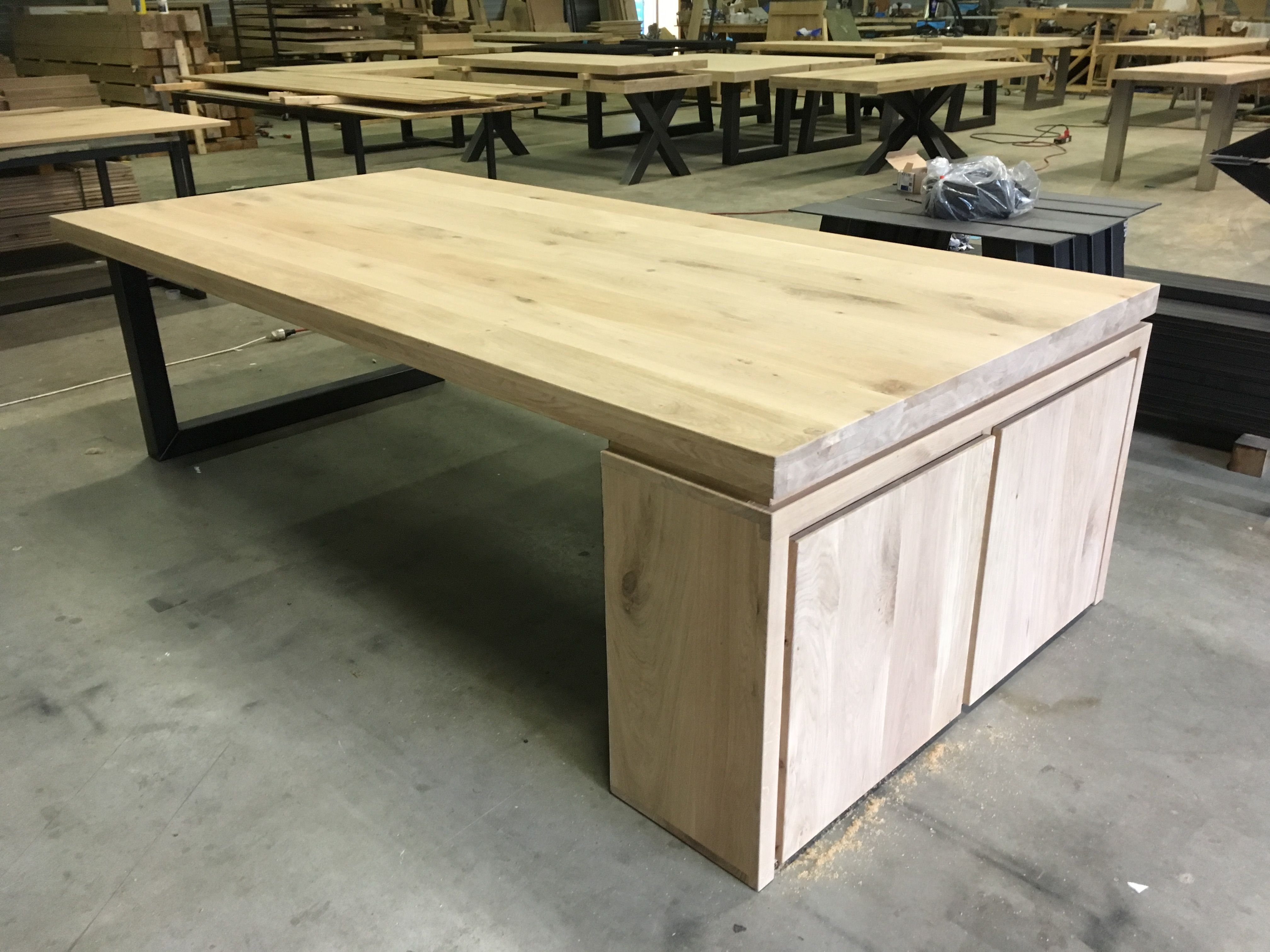 Www Meubels Nl : Eiken bureau met kast kaldenbach meubels kaldenbach