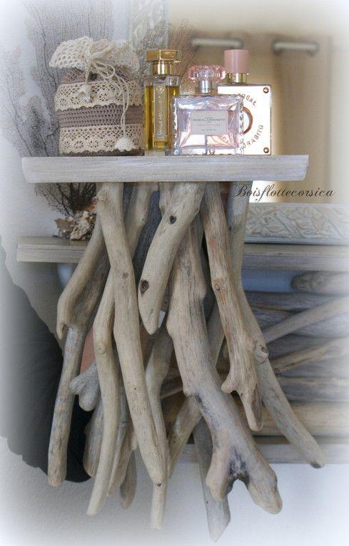 etag re en bois flott driftwood bois flott d co. Black Bedroom Furniture Sets. Home Design Ideas