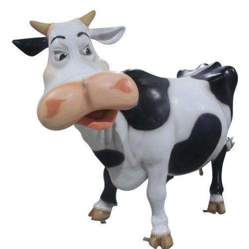 Vache humoristique | vache décoration jardin
