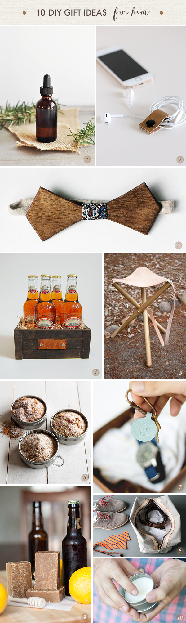 oh the lovely things 30 diy gift ideas him her and kids gifts