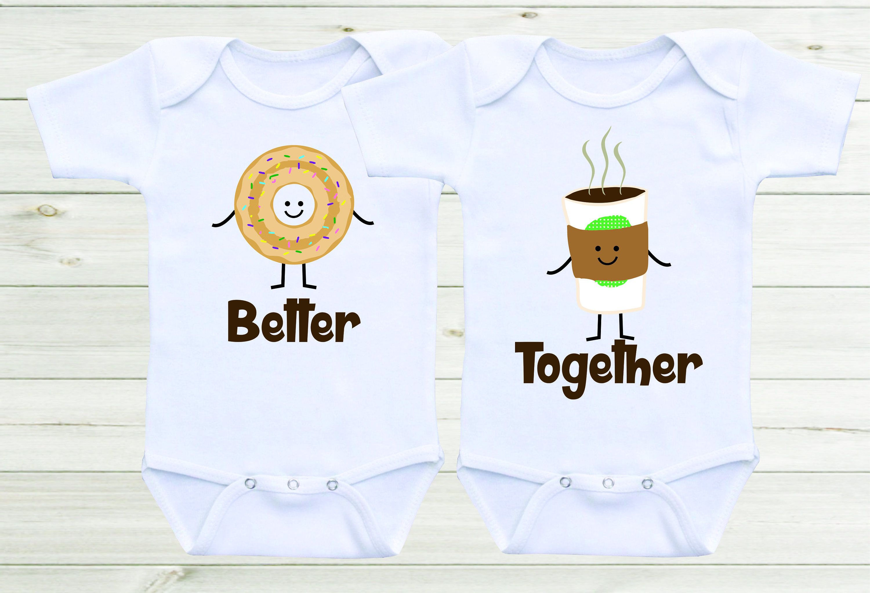 Better To her Twin esies Baby esies Twin Outfits Twin Shirts