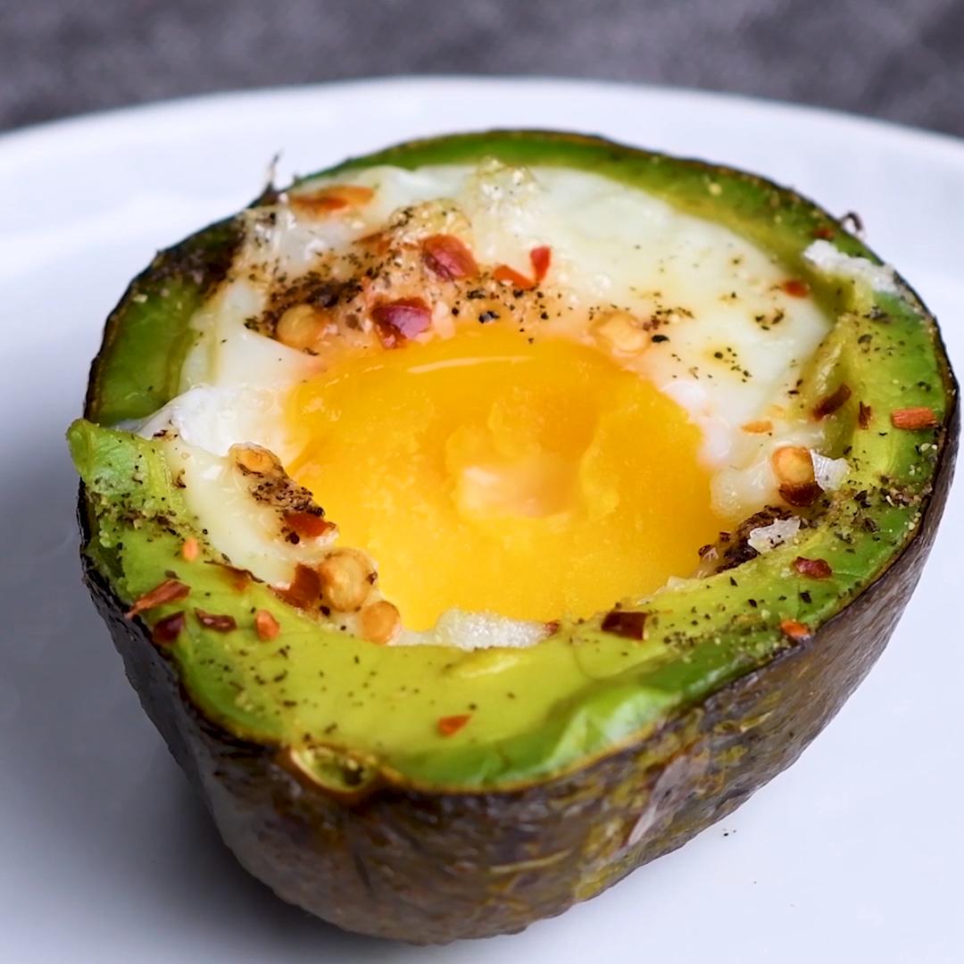 Avocado Eggs  #gezondeten