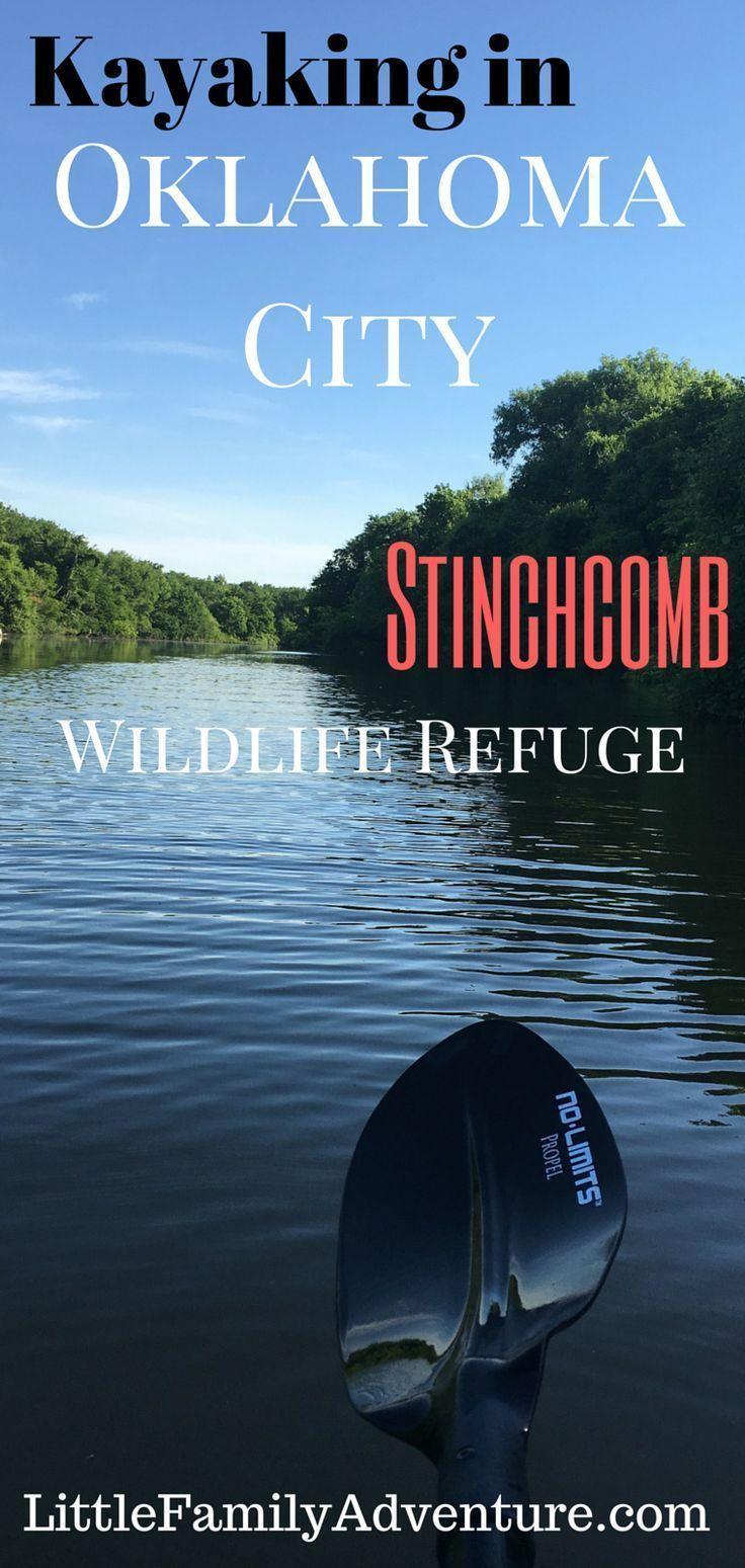 Photo of Kayaking in OKC – Stinchcomb Wildlife Refuge | Little Family Adventure