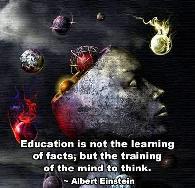Einstein Quotes Education Is Not The Learning Of Facts