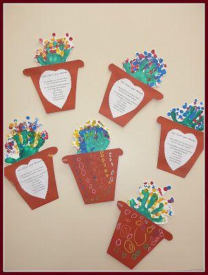 carte fête des mères ps Bouquet fête des mamans PS | Carte fête des mères maternelle