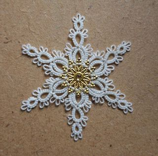 Le Blog de Frivole: I know It's a Bit Early... #chiacchierino #tatting #frivolite
