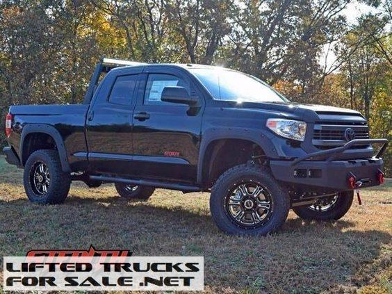 2015 Toyota Tundra Double Cab Rocky Ridge Stealth Lifted Truck Toyota Tundra 2015 Toyota Tundra Lifted Truck