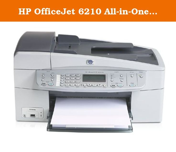 HP OfficeJet 6210 All-in-One Printer. Interested in multitasking? It's possible with this HP multifunction office machine for your home. Put professional-quality printing, scanning, copying, and faxing into play with the superfunctional Officejet 6210. What can it do? Print your photos sent from a PictBridge enabled digital camera (never mind going through a PC), automatically complete jobs while you go get coffee, e-mail and receive photos, and produce documents in a flash. It can be…
