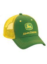Gorra John Deere con malla a marilla  71819972484