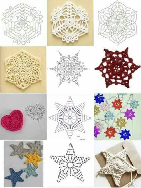 Pin von Viviana Rodriguez Moreno auf Puntadas en crochet | Pinterest