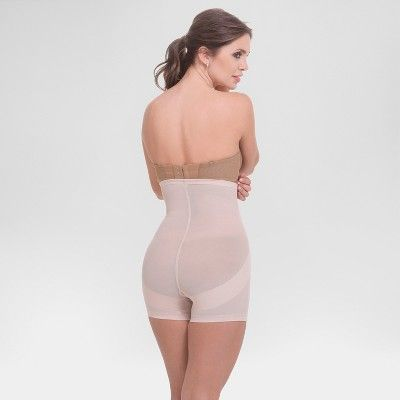 5c8d1002ab Annette Women s Faja Extra Firm Control High Waist Boyshorts With Front  Zipper - Beige 4X Ash