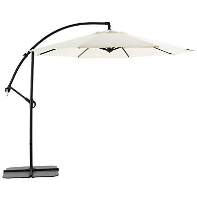 8b541f348d21 Buy Freestanding Garden Parasol, Ecru online at JohnLewis.com - John Lewis