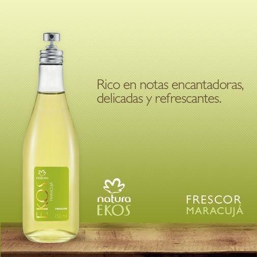 Frescor MARACUYÁ. Precio $195. | Perfume, Natura cosmetico