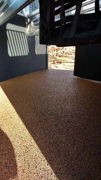 Rubber flooring inside horse trailer | Horse trailer ...