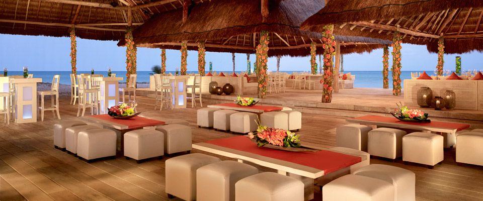 Oceanfront Venue La Palapa At Rosewood Mayakoba For A Destination Wedding In Riviera Maya Mexico