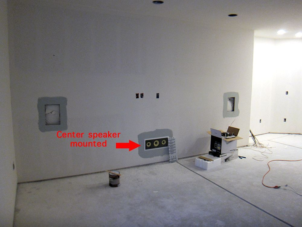 this wall in the basement home theater room is where the projector rh pinterest com Basement Wiring Houston Texas Basement Wiring Plan