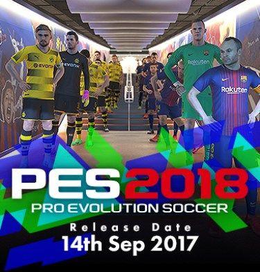pro evolution soccer 2018 key free download
