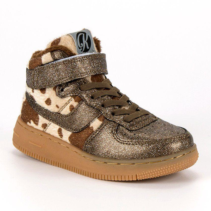Buty Sportowe Dzieciece Dla Dzieci Kylie Zolte Zlote Trampki Z Futerkiem Kylie Wedge Sneaker High Top Sneakers Shoes