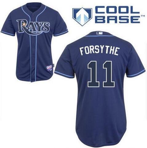 Men S Tampa Bay Rays 11 Logan Forsythe Navy Blue Stitched Baseball Jersey Custom Jerseys Tampa Bay Rays Nfl T Shirts