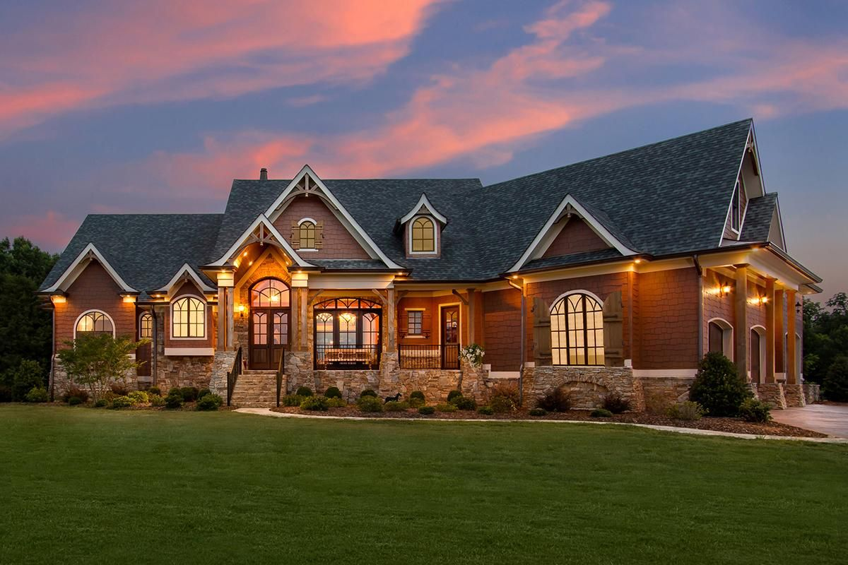 Photo of Mountain Rustic House Plan 699-00186