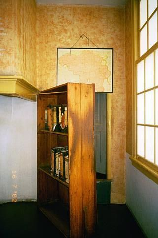 The Hidden Staircase In Anne Frank S House Secret