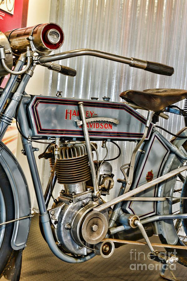 Motorcycle 1913 Harley Davidson By Paul Ward Harley Bikes Motorcycle Harley Harley Davidson