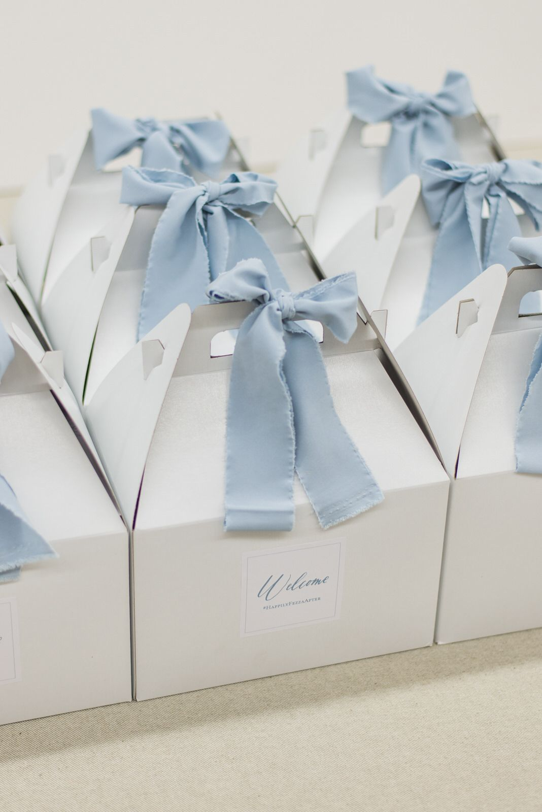 VIRGINIA WEDDING WELCOME BOXES AT PIPPIN HILL Marigold & Grey ...