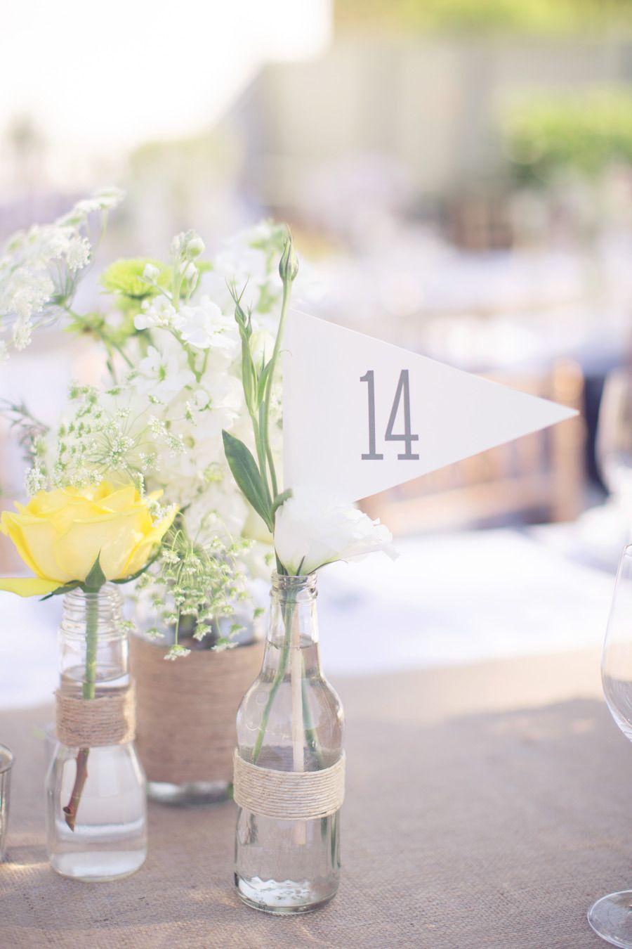 Deco Centre De Table whimsical california ranch wedding   centre de table mariage