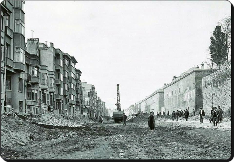 Fatih -Fevzipaşa Caddesi - 1958