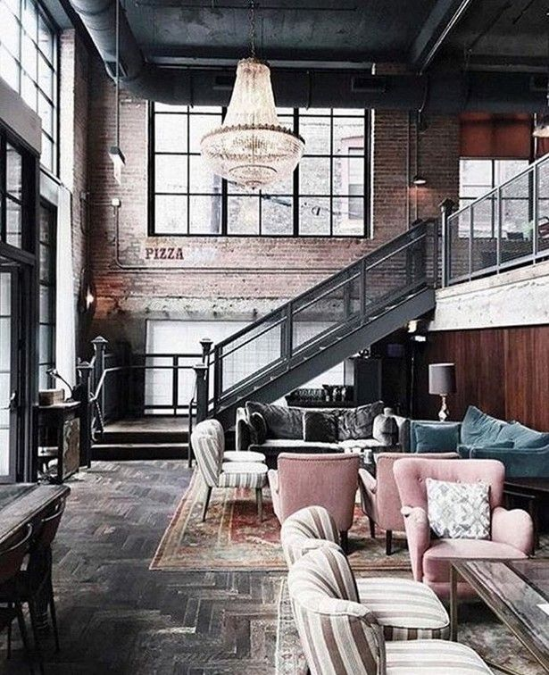 Attraktiv #INDUSTRIAL #STYLE: FROM GEEK TO CHIC   Find More Inspiring Articles At:  Http://www.delightfull.eu/en/inspirations/