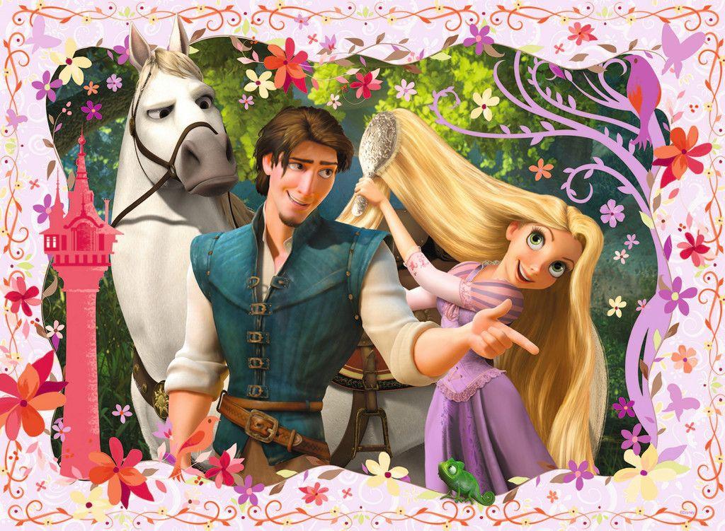 Rapunzel Xxl100 Children S Puzzles Puzzles Products Uk Ravensburger Com Disney Rapunzel Rapunzel Disney
