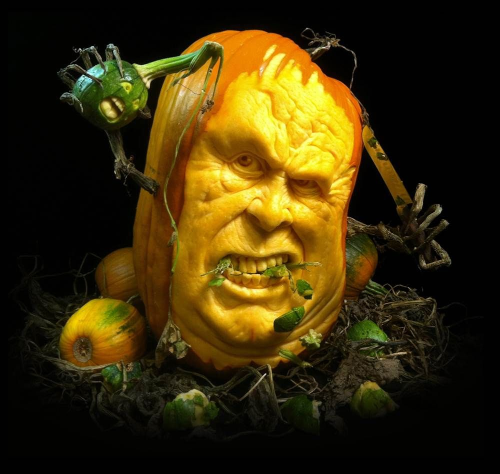 Spooky | Jack-O-Lanterns | Pinterest | Pumpkin carving