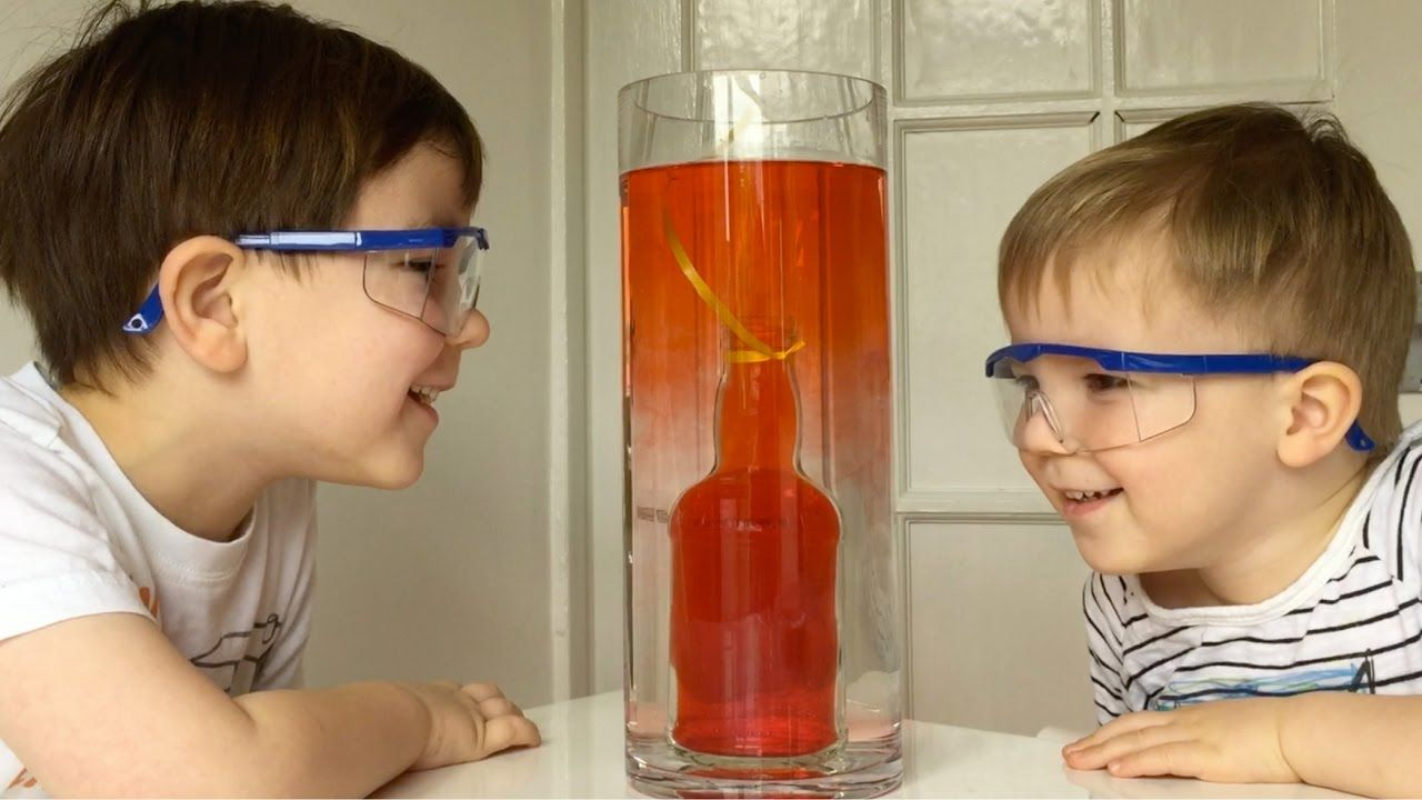 How To Make Underwater Volcano Experiment At Home