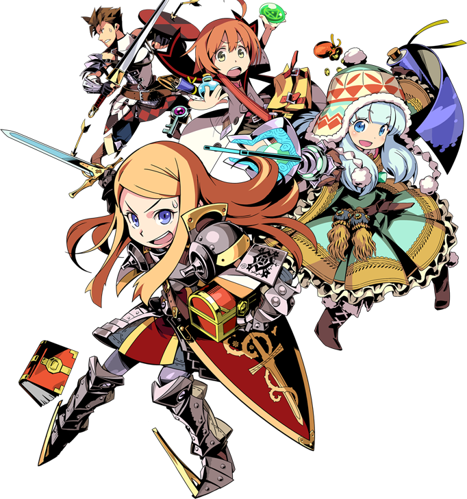 etrian odyssey Google Search (With images) Card art