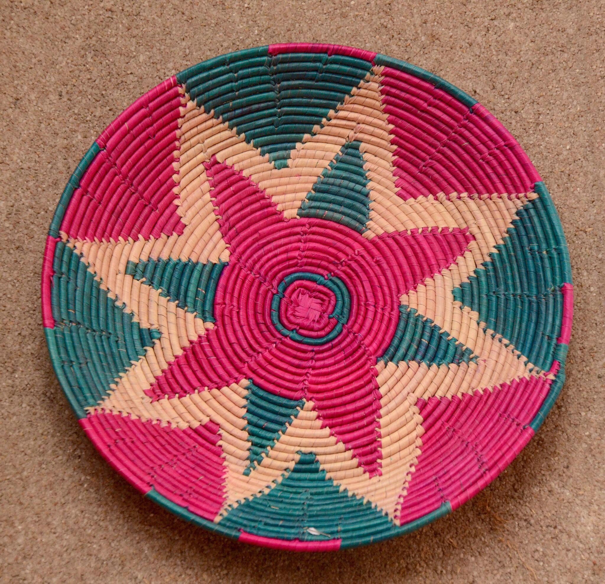 Woven Basket For Bread Changair Pakistani Handicraft Made In