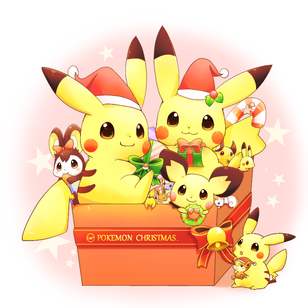 Pokemon Christmas.Pokemon Christmas Cute Gorgeous Pokemon Christmas