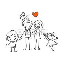 Resultado De Imagen De Dibujo Familia Ninos 4 Anos Vector Iconos